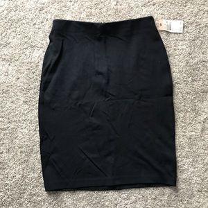 Philosophy Navy Pencil Skirt